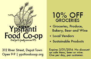 Ypsilanti Food Co-op ad