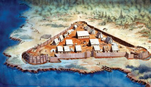 Jamestown-fort