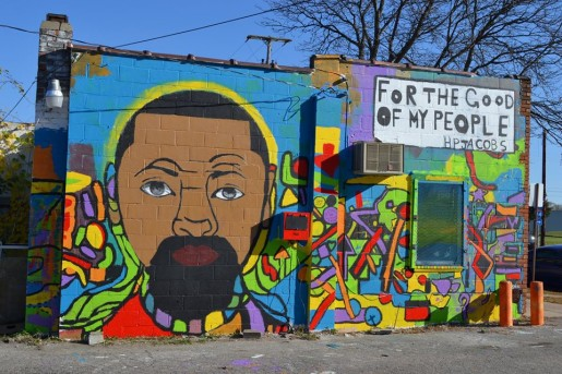 The desperate need for affordable housing in ann arbor for Black history mural