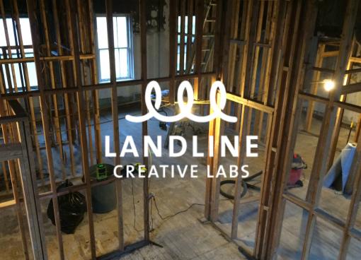 LandlineEarlyLogoProgress