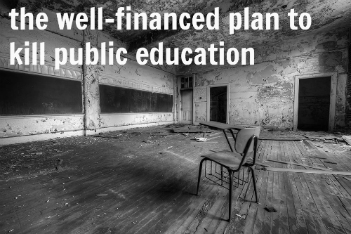 Image result for Let's Privatize American Education Even If There Is Little to No Research to Support School Choice