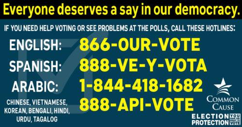 voting-hotlines